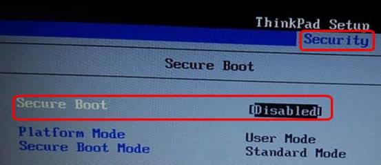 联想本本将UEFI改MBR装win7的bios设置示例